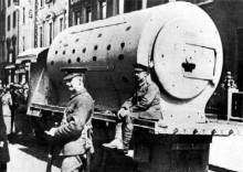 Guinness truck used by Brits in 1916