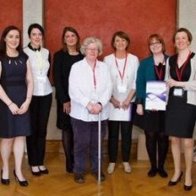 Legacy Gender Integration Group with Megan Fearon MLA in Stormont at the launch of 'Gender Principles for Dealing with the Past'