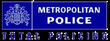 Met Police logo Total Policing