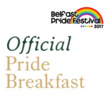 Belfast Pride Breakfast 2017