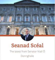Niall Ó Donnghaile blog