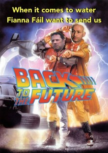 Alan Farrell TD Back to Future spoof poster