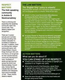 Back of ANBC leaflet