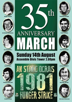 35th Hunger Strike commemoration