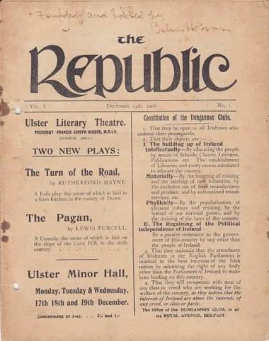 The Republic by Bulmer Hobson