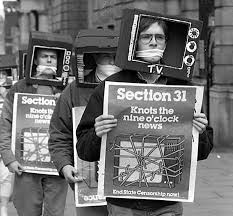 Section 31 protest