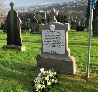 Grave of Vol Dan McGandy