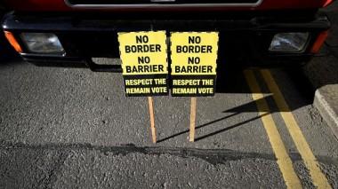 no hard border