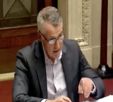 Declan in TEO Committee