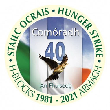 Hunger Strike 40th ann logo