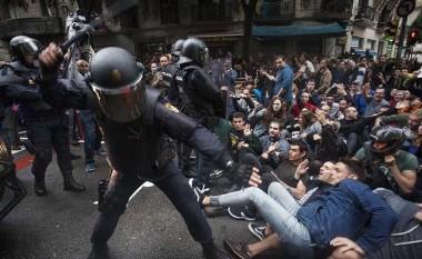 Catalan violence