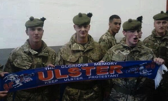 Armed Forces Day at Ibrox ends with British soldiers joining in with hate filled Sectarian chants