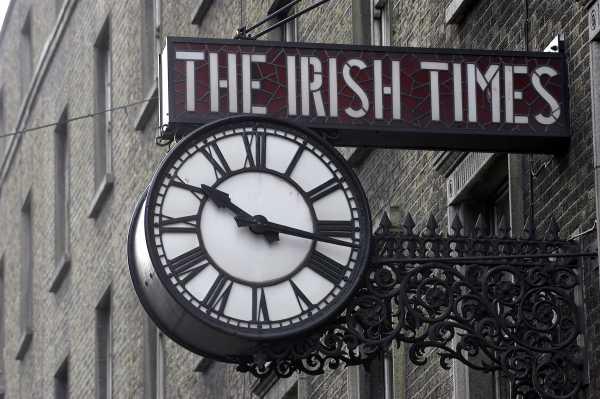 Irish Times clock
