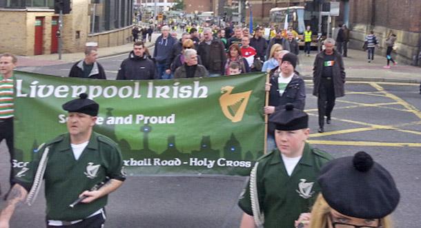 Cumann na mBan Liverpool march 2104