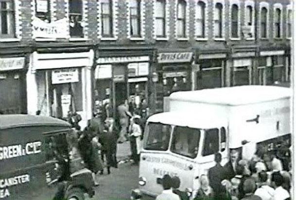 Divis Street 1964 street scene