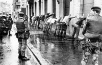 Internment spreadeagled civilians 2