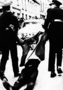 Duke Street 1968 man dragged