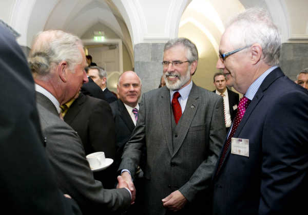 Prince Charles meets Gerry Adams 2015
