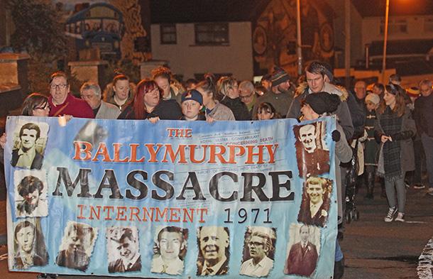 Ballymurphy Massacre commemoration 2015