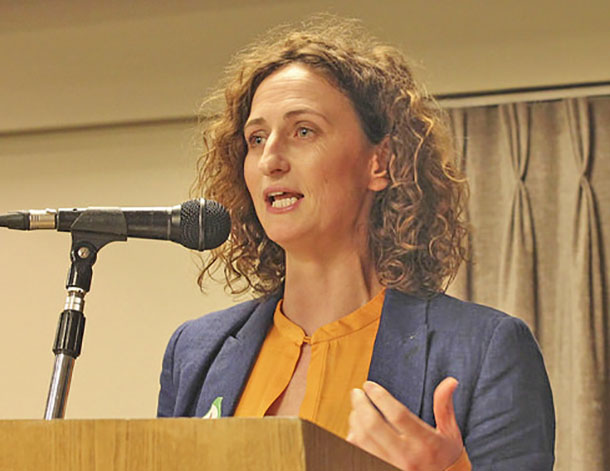 Lynn Boylan speaking 2015