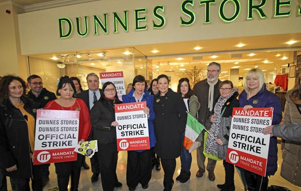 Dunnes Strike Mandate
