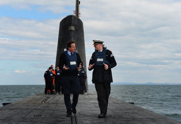 Cameron on Trident