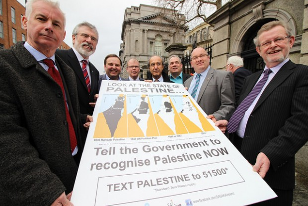 Palestine petition at Dáil