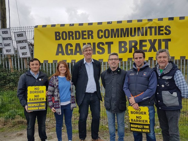 Border Communities Against Brexit John O'Dowd, NOD, Mickey Brady