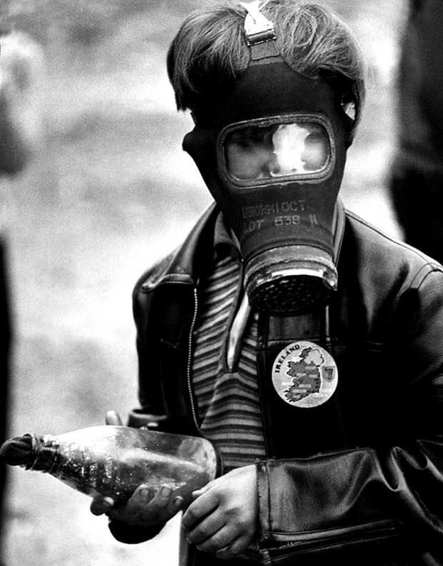 Free Derry petrol bomber