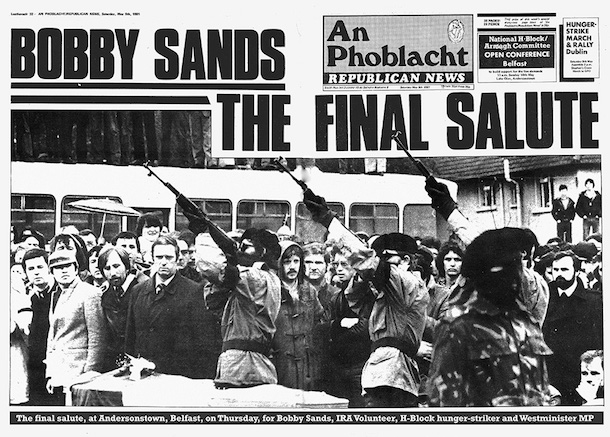 Image result for the death of ira member bobby sands