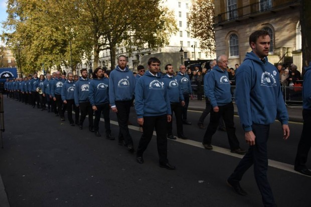 VfP parade at Cenotaph 2016