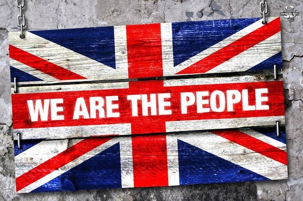 We Are the People Union Jack