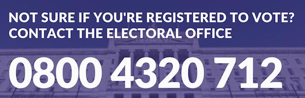 Vote helpline