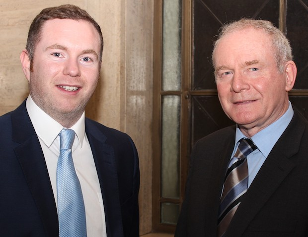 Chris Hazzard & Martin McGuinness