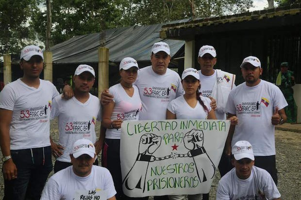 Colombia 2017 – FARC POWs