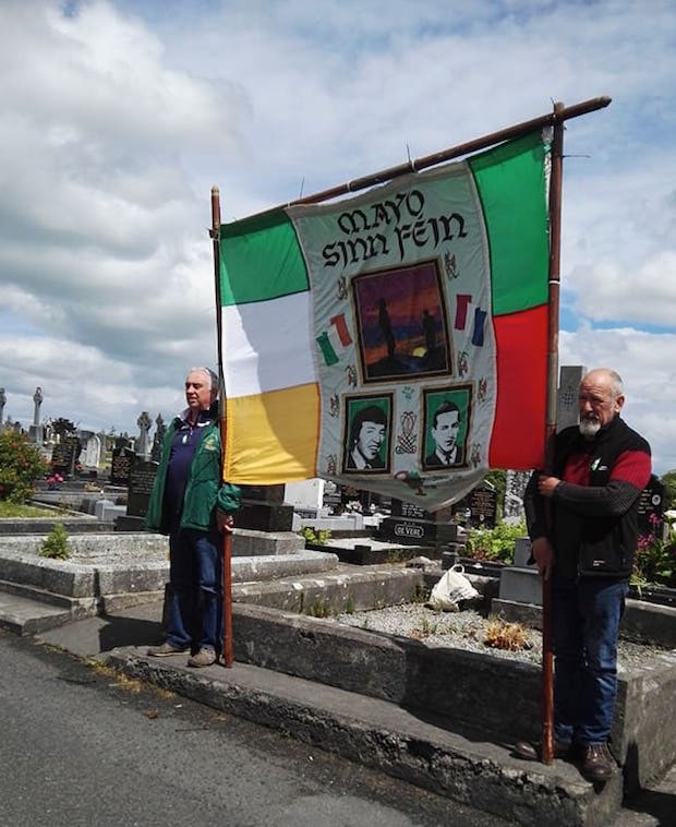 2017 Gaughan – Banner Michael Gaughan Commemoration 2017