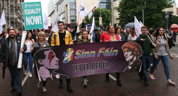 1 July 2017 Belfast Rebel Rebel