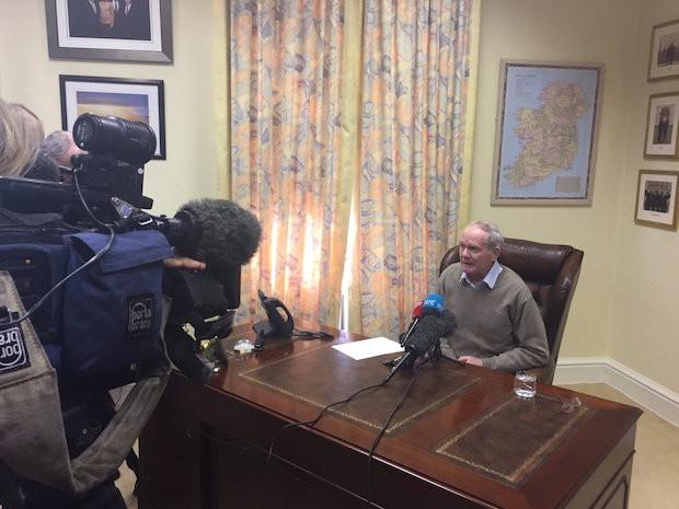 Martin McG resigns