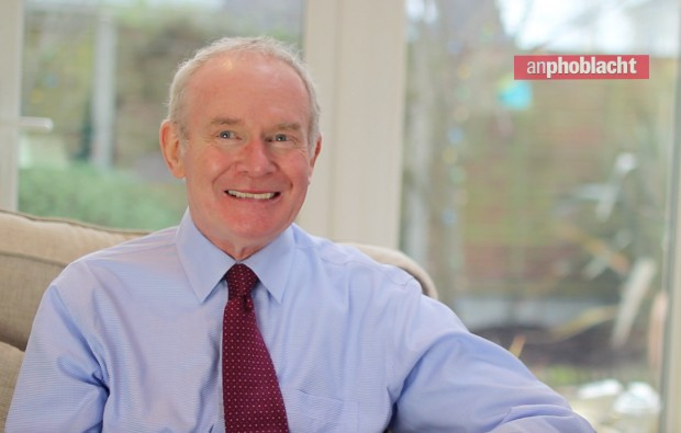 Martin McGuinness won't stand in Northern Ireland snap election