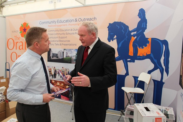 OO with Martin McGuinness