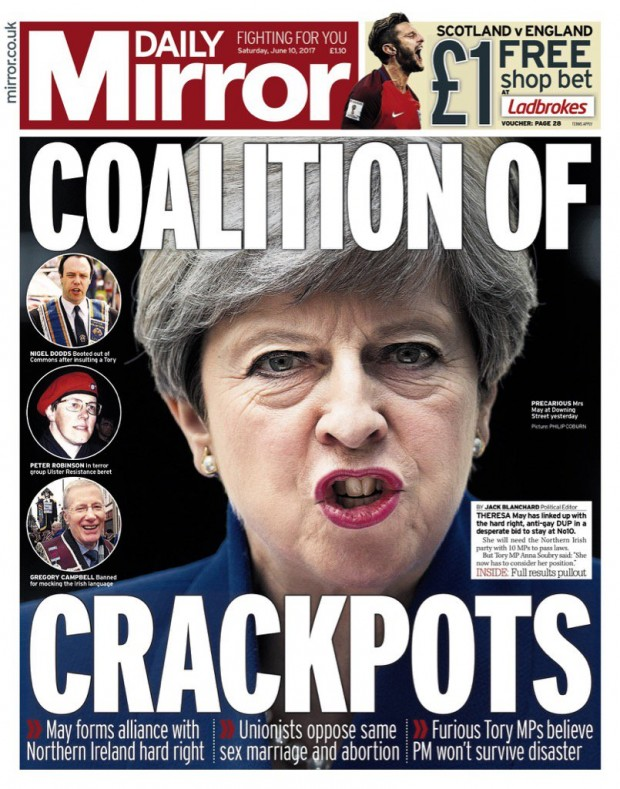 Daily Mirror Crackpot Coalition