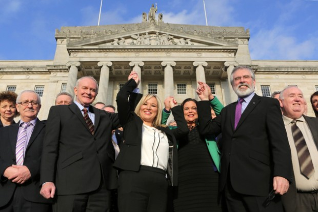 2017 Stormont SF leadership