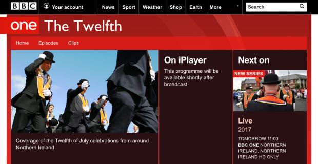 Twelfth 2017 BBC coverage