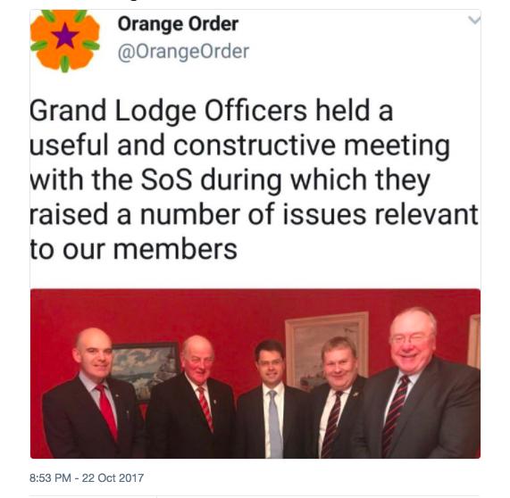 Brokenshire meets OO Oct 2017