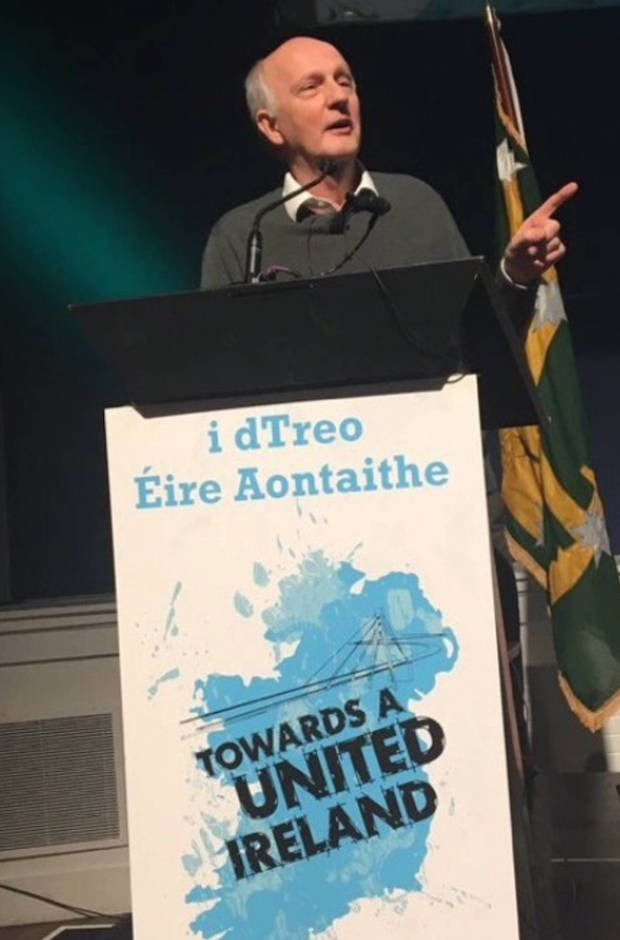 Alex Kane at SF UI conference, Dublin, Jan 2017