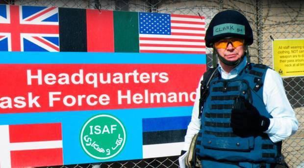 UTV Paul Clark in Afghan