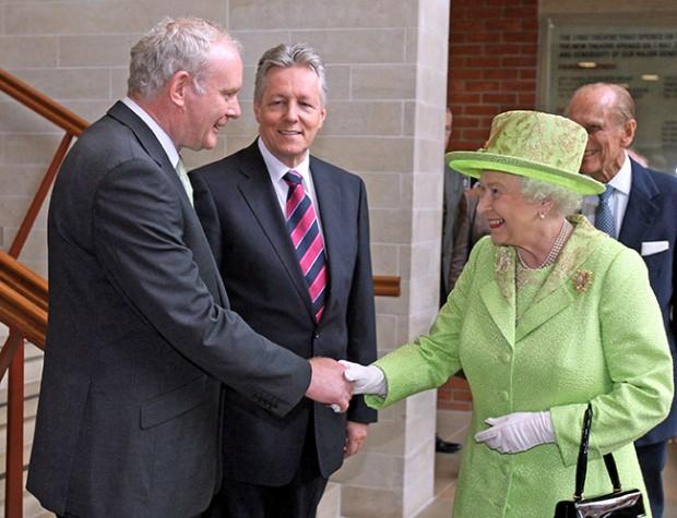Martin meets Queen Elizabeth