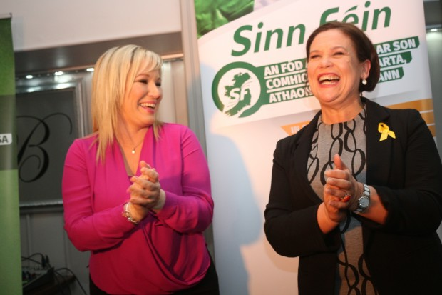 Mary Lou McDonald to replace Gerry Adams as Sinn Fein leader