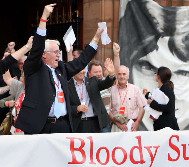 The findings of the Saville Inquiry are welcomed by the Bloody Sunday families.