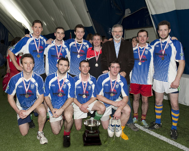 Men's section winners, Connaught